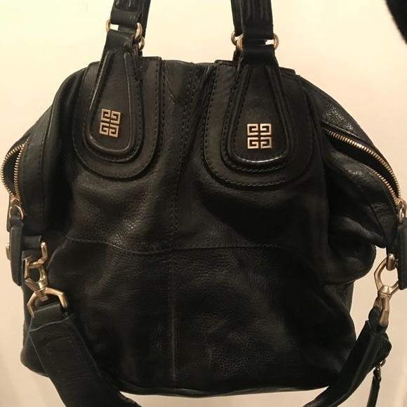230645a29f55 Givenchy Handbags - GIVENCHY BLACK NIGHTINGALE BAG